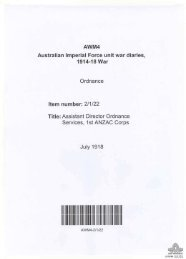 AWM4, 2/1/22 - Australian War Memorial
