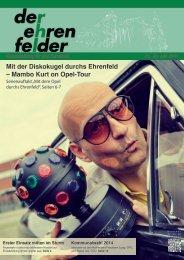 Mit der Diskokugel durchs Ehrenfeld – Mambo Kurt on Opel-Tour