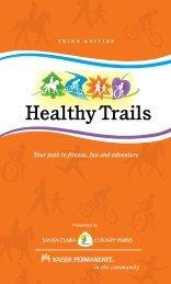 Healthy Trails Guidebook - County of Santa Clara