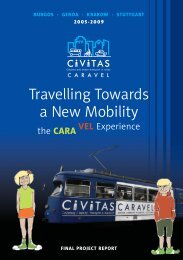Travelling Towards a New Mobility - CIVITAS