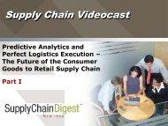 Supply Chain Videocast - Supply Chain Digest