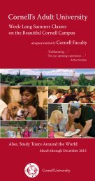 Our 2013 brochure - School of Continuing Education and Summer ...