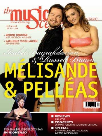 The Music Scene Winter 2008 Issue - La Scena Musicale