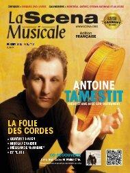Adobe Acrobat PDF complet (10 MB) - La Scena Musicale