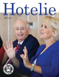 Hotelie magazine - School of Continuing Education and Summer ...
