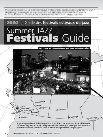 Festivals Guide - La Scena Musicale