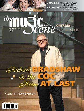 Richard BRADSHAW & The COC - La Scena Musicale