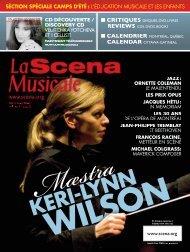 musiques - La Scena Musicale