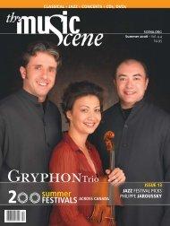The Music Scene Summer 2006 Issue - La Scena Musicale