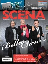 Adobe Acrobat PDF complet (10.6 MB) - La Scena Musicale