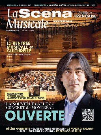 musicales - La Scena Musicale