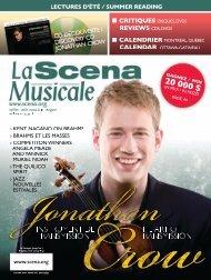 Download the PDF file - La Scena Musicale