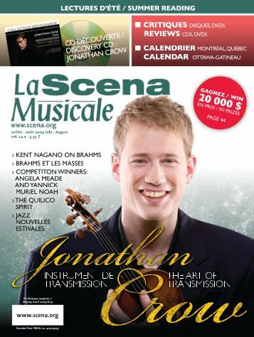 Download the PDF file - La Scena Musicale