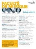 Octobre 2010 - La Scena Musicale - Page 3