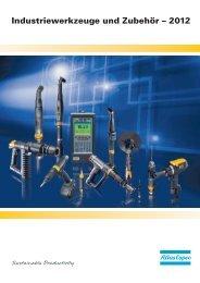 Industriewerkzeug-Katalog herunterladen - Atlas Copco GmbH