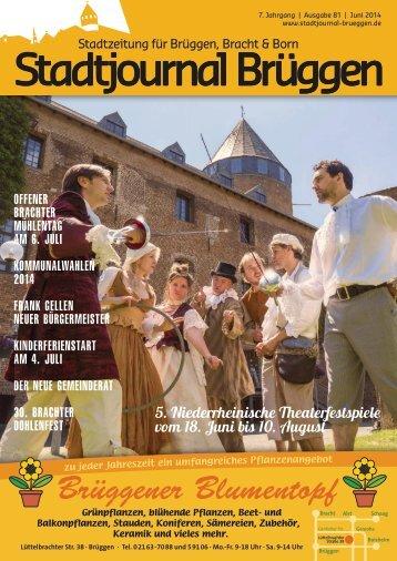 Stadtjournal Brüggen Juni 2014