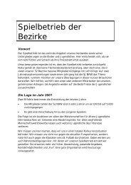 Spielbetrieb der Bezirke (pdf) - Schachjugend NRW