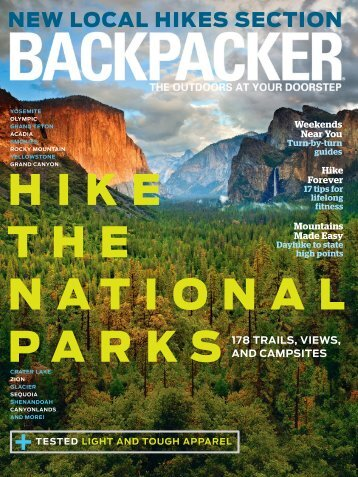 hike the NatioNal parks