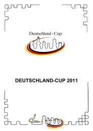 Ausschreibung Deutschland Cup 2011 - Schachlinks