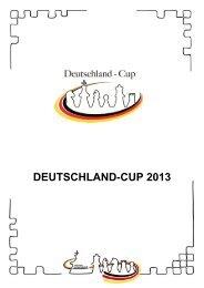 Deutschland Cup in Wernigerode