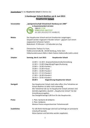 Ausschreibung für das Hauptturnier Schach _Biathlon ... - Schachlinks