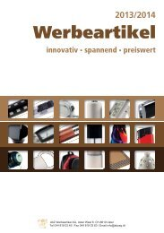 AbZ-Katalog - AbZ Werbeartikel AG