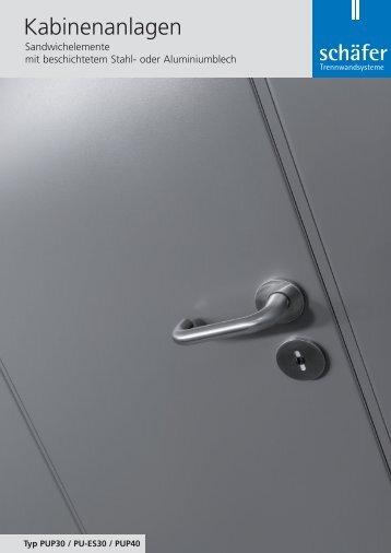 Produktprospekt - Schäfer Trennwandsysteme