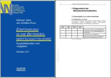 BWL4_Zusatzfallstudien_Lsg - Schäffer-Poeschel Verlag GmbH