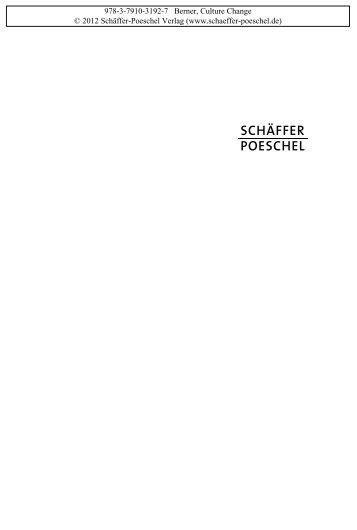 Leseprobe - Schäffer-Poeschel Verlag GmbH