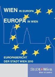 Europabericht der Stadt Wien 2010