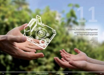 Weiterentwickelte Komponenten für Doppelkupplungsgetriebe