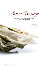Inner Beauty - Charisma und Ausstrahlung kann jeder erwerben.