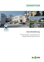 und Arbeitsschutz Standort Berndorf-Sankt Veit 2013