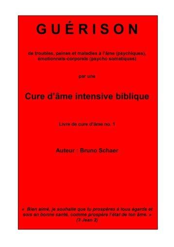 Guérison par une Cure d'âme intensive biblique - Schaermin.org