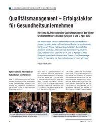 Qualitätsmanagement – Erfolgsfaktor für ... - Schaffler Verlag