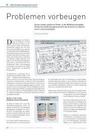Problemen vorbeugen - Schaffler Verlag