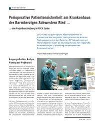 Perioperative Patientensicherheit am ... - Schaffler Verlag