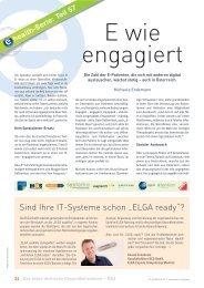 """Sind Ihre IT-Systeme schon """"ELGA ready""""? - Schaffler Verlag"""