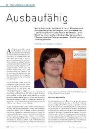 Was Unterstützung schafft Wer an Spital denkt ... - Schaffler Verlag
