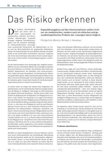 Das Risiko erkennen - Schaffler Verlag