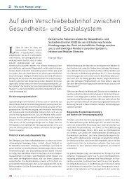 Auf dem Verschiebebahnhof zwischen ... - Schaffler Verlag