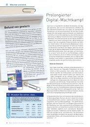 Prolongierter Digital-Machtkampf - Schaffler Verlag