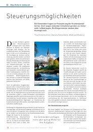 Steuerungsmöglichkeiten - Schaffler Verlag