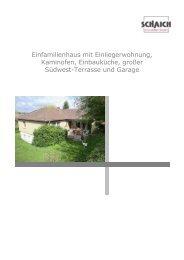 Einfamilienhaus mit Einliegerwohnung, Kaminofen, Einbauküche ...