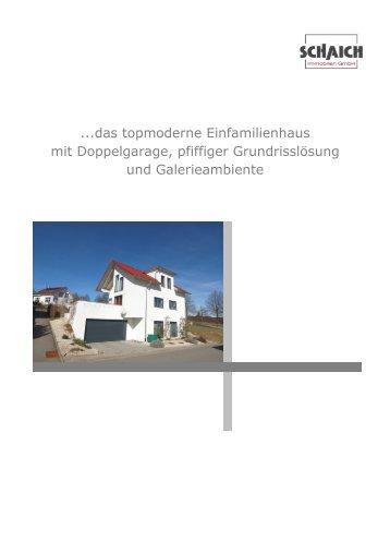 ...das topmoderne Einfamilienhaus mit Doppelgarage, pfiffiger ...