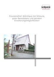Provisionsfrei! Wohnhaus mit Scheune, guter Bausubstanz und ...