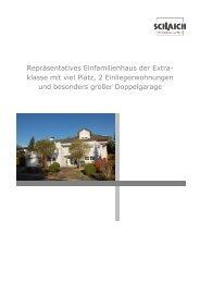 Repräsentatives Einfamilienhaus der Extra- klasse mit viel Platz, 2 ...