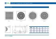 Difusor tangencial microperforado - Schako