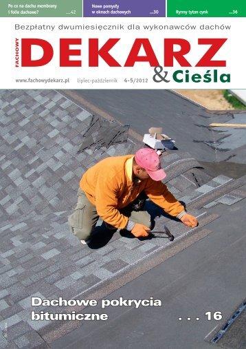 Fachowy Dekarz & Cieśla 4-5/2012