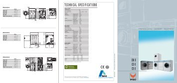CW8, CD8, CS8 brochure - Commercial Laundry Equipment Company